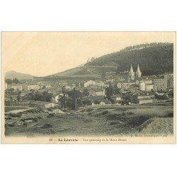 carte postale ancienne 07 LA LOUVESC. Le Mont Besset
