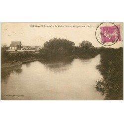 carte postale ancienne 02 BERRY-AU-BAC. La Rivière l'Aisne