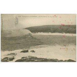 carte postale ancienne 56 PRESQU'ILE DE QUIBERON. Port Kerné 1906. Timbre manquant