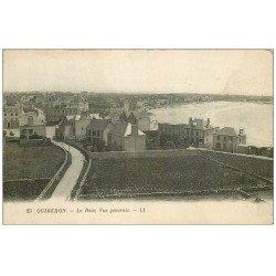 carte postale ancienne 56 QUIBERON. La Baie