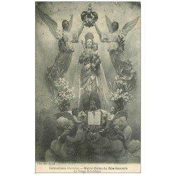 carte postale ancienne 07 LABLACHERE. Vierge Notre-Dame de Bon-Secours