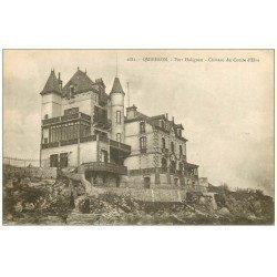 carte postale ancienne 56 QUIBERON. Port Haliguen Château du Comte d'Elva