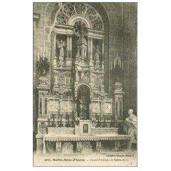 carte postale ancienne 56 SAINTE-ANNE-D'AURAY. Autel Privilégié