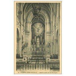 carte postale ancienne 56 SAINTE-ANNE-D'AURAY. Basilique. Maître-Autel et ses Orgues