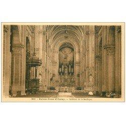 carte postale ancienne 56 SAINTE-ANNE-D'AURAY. Basilique. Ses Orgues