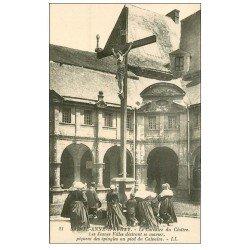 carte postale ancienne 56 SAINTE-ANNE-D'AURAY. Calvaire du Cloître