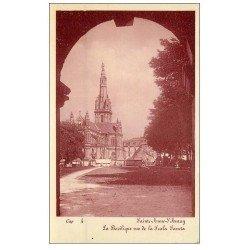 carte postale ancienne 56 SAINTE-ANNE-D'AURAY. La Basilique. Cap 4
