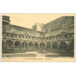 carte postale ancienne 56 SAINTE-ANNE-D'AURAY. Le Cloître
