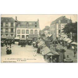 carte postale ancienne 56 SAINTE-ANNE-D'AURAY. Place de la Basilique