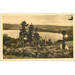 carte postale ancienne 07 LAC D'ISSARLES. Vue panoramique