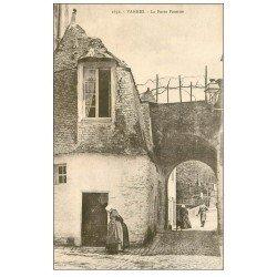 carte postale ancienne 56 VANNES. La Porte Poterne