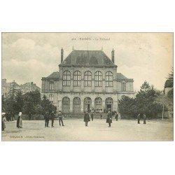 carte postale ancienne 56 VANNES. Le Tribunal du Palais de Justice