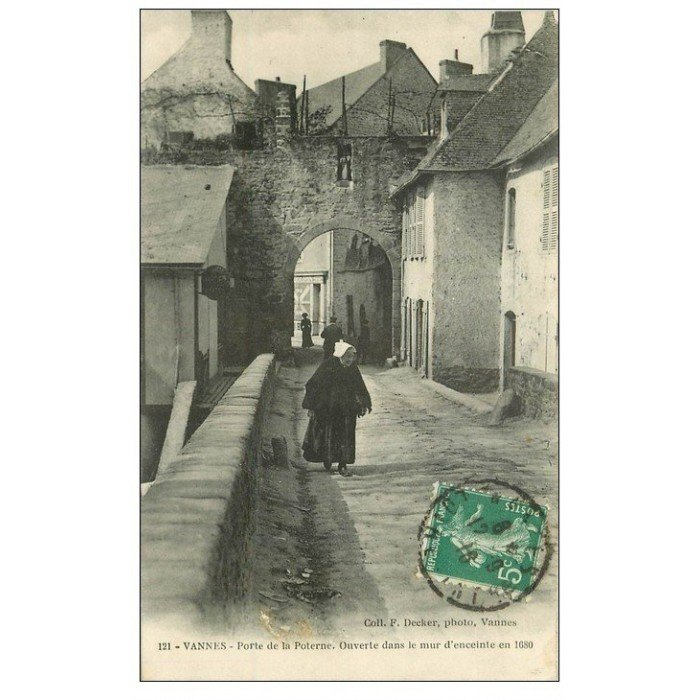 56 vannes porte de la poterne 1916 for Porte de garage vannes