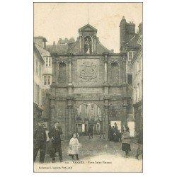 carte postale ancienne 56 VANNES. Porte Saint-Vincent