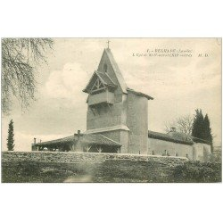 carte postale ancienne 40 BELHADE. Eglise Saint-Vincent