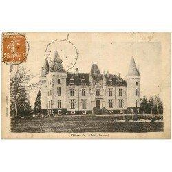 carte postale ancienne 40 CHATEAU DE LUBON