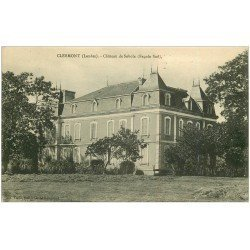 carte postale ancienne 40 CLERMONT. Château de Sobole