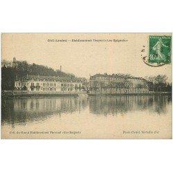carte postale ancienne 40 DAX. Etablissement Les Baignots 1924