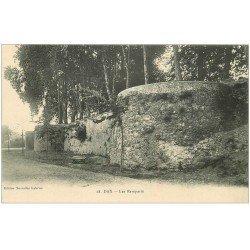 carte postale ancienne 40 DAX. Les Remparts