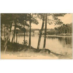 carte postale ancienne 40 HOSSEGOR. Embouchure du Canal