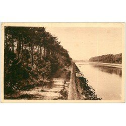 carte postale ancienne 40 HOSSEGOR. Le Canal 1930