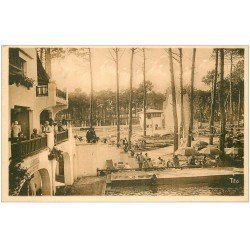 carte postale ancienne 40 HOSSEGOR. Le Sporting 1952