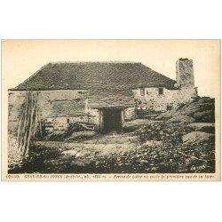 carte postale ancienne 07 LE GERBIER DES JONCS. Ferme de Loire où débute les premières Eaux de la Loire