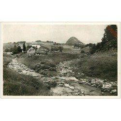 carte postale ancienne 07 LE GERBIER DES JONCS. La Loire et Confluent Aigueneire au Cros de Lizeret