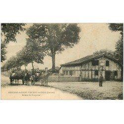 carte postale ancienne 40 SAINT-VINCENT-DE-PAUL BERCEAU. Maison de Ranquine