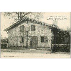 carte postale ancienne 40 SAINT-VINCENT-DE-PAUL. Maison de Ranquine