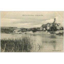 carte postale ancienne 02 BERRY-AU-BAC. Le Nouveau Pont