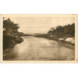 carte postale ancienne 40 VIEUX-BOUCAU-LES-BAINS. Courant sur la Plage