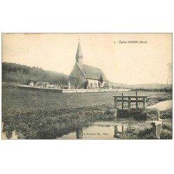 carte postale ancienne 27 ACON. L'Eglise