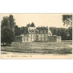 carte postale ancienne 27 ACQUIGNY. Le Château