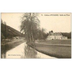 carte postale ancienne 27 ACQUIGNY. Le Château Vallée de l'Eure