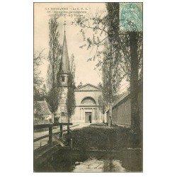 carte postale ancienne 27 ACQUIGNY. L'Eglise 1906