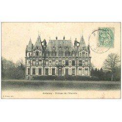 carte postale ancienne 27 AMBENAY. Château de l'Hermite 1907