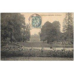 carte postale ancienne 27 AMFREVILLE-LA-CAMPAGNE. Le Château