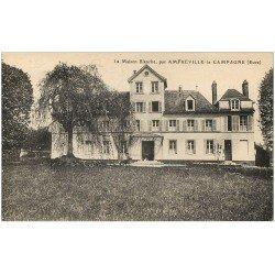 carte postale ancienne 27 AMFREVILLE-LA-CAMPAGNE. Maison Blanche 1932