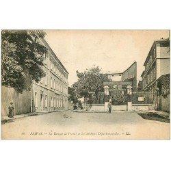 carte postale ancienne 07 PRIVAS. Banque de France 1921 et Archives Départementales