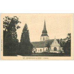 carte postale ancienne 27 AMFREVILLE-SUR-ITON. Eglise