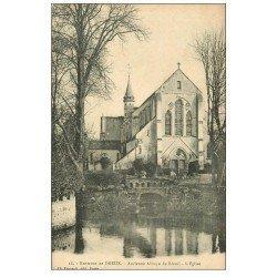 carte postale ancienne 27 ANCIENNE ABBAYE DU BREUIL. Eglise