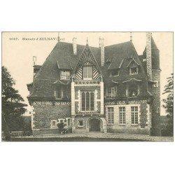 carte postale ancienne 27 AULNAY. Le Manoir 1915