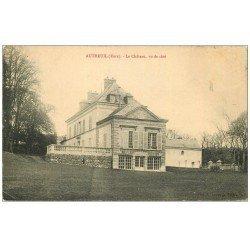carte postale ancienne 27 AUTHEUIL. Le Château. Minuscule pli