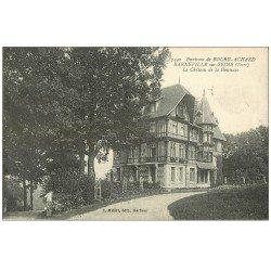 carte postale ancienne 27 BARNEVILLE-SUR-SEINE. Château de la Houssaye