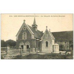 carte postale ancienne 27 BAUX-DE-BRETEUIL. Chapelle Sainte-Suzanne