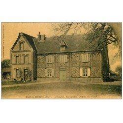 carte postale ancienne 27 BAUX-DE-BRETEUIL. Maison Normande le Hamelet