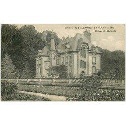 carte postale ancienne 27 BEAUMONT-LE-ROGER. Château de Melville
