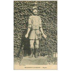 carte postale ancienne 27 BEAUMONT-LE-ROGER. Regulus