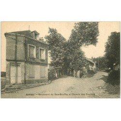 carte postale ancienne 27 BERNAY. Boulevard du Bas-Bouffey Chemin des Courses